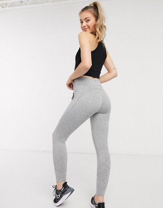 FREE PEOPLE MOVEMENT high bar leggings in grey combo