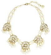 Ben-Amun Lattice Pearls Statement Necklace