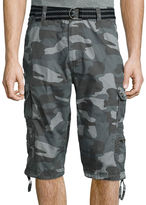 Plugg Mini Relaxed-Fit Ripstop Messenger Cargo Shorts