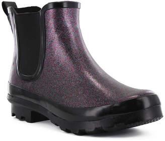 Western Chief Womens Razzle Dazzle Chelsea Rain Boots Waterproof Flat Heel