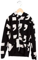 Nununu Boys' Printed Zip-Up Sweatshirt