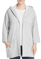Eileen Fisher Plus Hooded Kimono Jacket