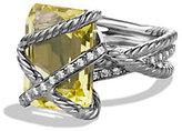 David Yurman Cable Wrap Ring with Diamonds