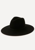 Bebe Banded Wide Brim Hat