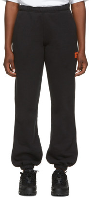 Heron Preston Black Fleece Lounge Pants