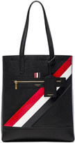 Thom Browne Diagonal Stripe Tote