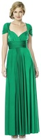 Dessy Collection - MJ-TWIST2 Dress in Pantone Emerald