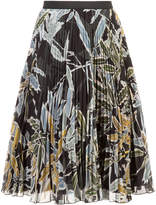 I'M Isola Marras pleated floral skirt