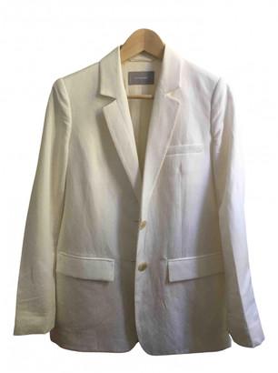 Everlane White Linen Jacket for Women