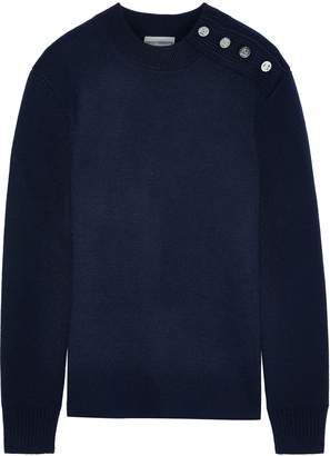 Paco Rabanne Button-detailed Wool Sweater