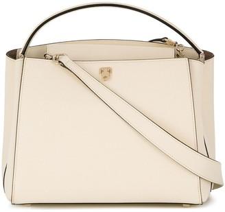 Valextra Top-Handle Shoulder Bag