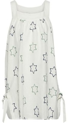 Emma Pake Alessia Embroidered Linen Coverup