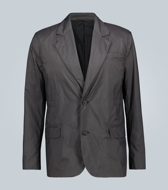 Acne Studios Jace nylon single-breasted blazer