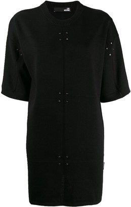 Love Moschino Short Stud-Embellished Dress