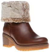 Panama Jack New Womens Brown Piola Leather Boots Ankle Pull On