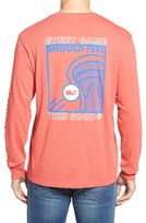 Vineyard Vines Men's Lacrosse Box Pocket T-Shirt