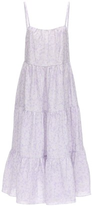 Peony Swimwear Lavender Aftersun Dress