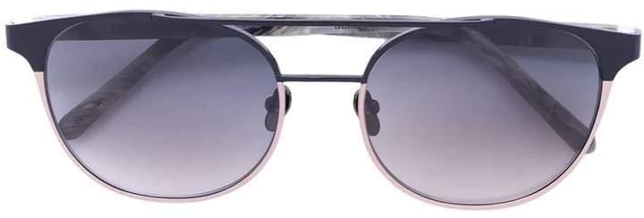 Linda Farrow gradient sunglasses