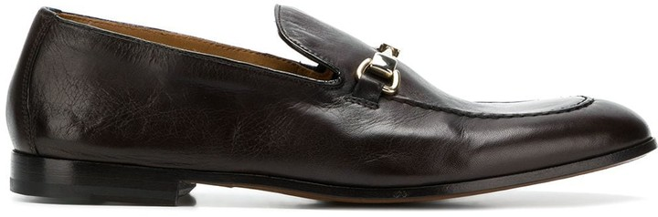 Doucal's almond toe loafers