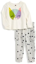 Tea Collection Infant Girl's Hamish Mchamish Graphic Top & Sweatpants