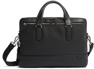 Tumi Sycamore Slim Leather Briefcase