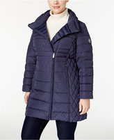 MICHAEL Michael Kors Size Asymmetrical Down Coat