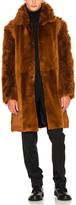 Ann Demeulemeester Sheep Fur Jacket