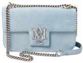 Alexander McQueen Insignia Leather Chain Shoulder Bag