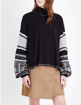 Free People Northern Lights knitted jumper