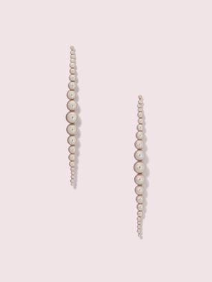 Kate Spade Modern Pearls Linear Earrings