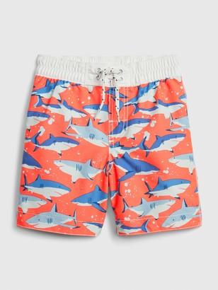 Gap Toddler Shark Swim Trunks