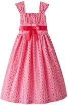 Bonnie Jean eyelet embroidered dress - girls' plus