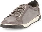 Cole Haan Quincy Sport Oxford II Leather Sneaker, Storm Cloud