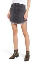 7 For All Mankind Women's Denim Miniskirt