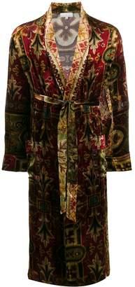 Pierre-Louis Mascia brocade coat