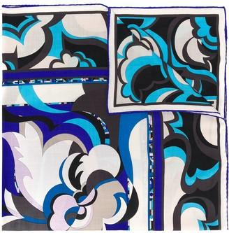 Emilio Pucci Graphic-Print Scarf