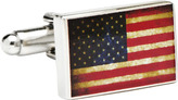 Cufflinks Inc. Men's Vintage USA Flag Cufflinks