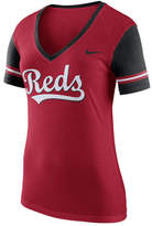 Nike Women's Cincinnati Reds Fan Top
