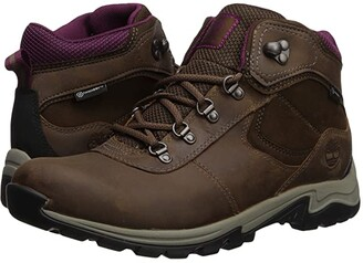 Timberland Mt. Maddsen Mid Leather Waterproof (Medium Brown Full Grain) Women's Lace-up Boots