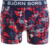 Björn Borg Houndtooth Mix Sammy Shorts Shorts Racing Red