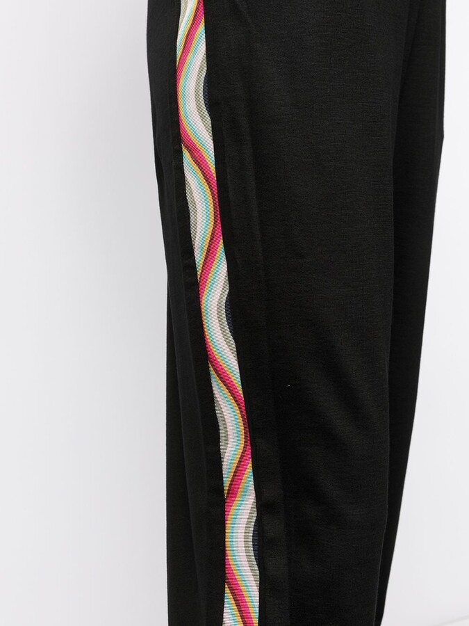 Thumbnail for your product : Paul Smith Contrast-Trim Track Pants