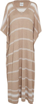 Madeleine Thompson Bosphourus striped cashmere kaftan