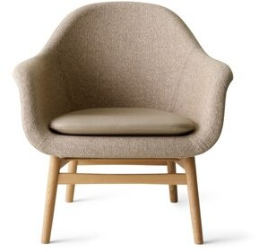 Menu Harbour Armchair Upholstery Color: Natural Oak