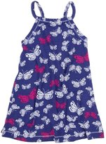 Hatley Shirred Dress (Toddler/Kid) - Graphic Butterflies-7