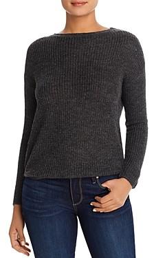 BeachLunchLounge Luna Metallic Ribbed Sweater