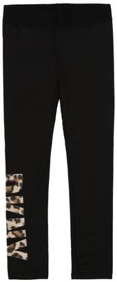 DKNY Leopard Print Logo Leggings (6-16 Years)
