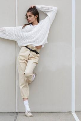 Cotton Zipper Jogger