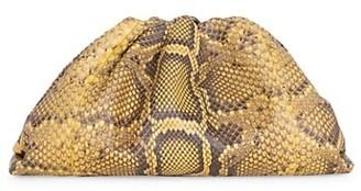 Bottega Veneta The Pouch Python Clutch