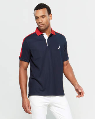 Nautica Color Block Polo