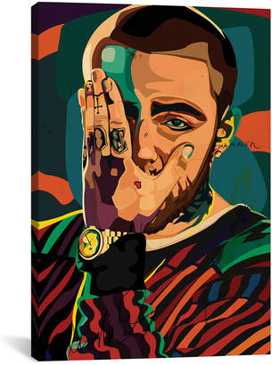 iCanvas icanvasart Mac Miller Design Canvas Artwork By Dai Chris Art